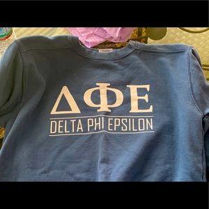 Delta phi epsilon sweatshirt